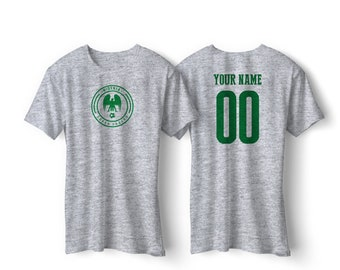 d910f3559d8 Nigeria National Team Pride Customized name and Number World Cup Men,  Youth, Infant, Kids, T-shirt, Tee, Bodysuit