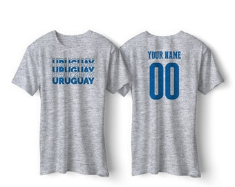 901ee4877 Uruguay National Team Pride Customized name and Number World Cup Men