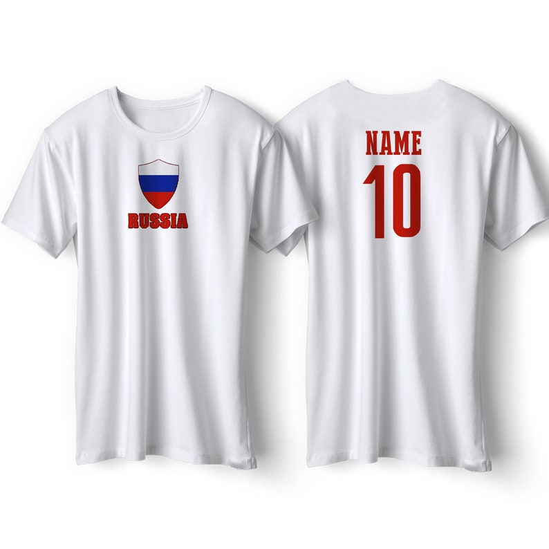 0e5ad935b51 Russia National Team Pride Customized name and Number World