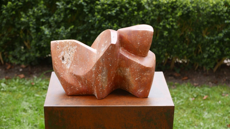 Kunstobjecten Voor Tuin : Abstracte sculptuur tuin kunst tuin beeldhouwkunst buiten etsy