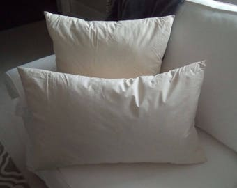 Feather Insert/Pillow Insert/Cotton Cover Insert