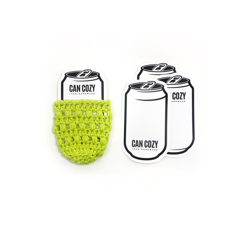 PRINTABLE Can Cozy Template  Downloadable PDF  Beer Can image 0