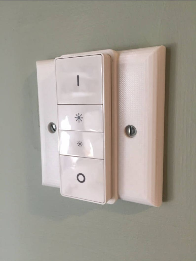 Philips Hue Dimmer Uk Single Light Switch Cover Etsy