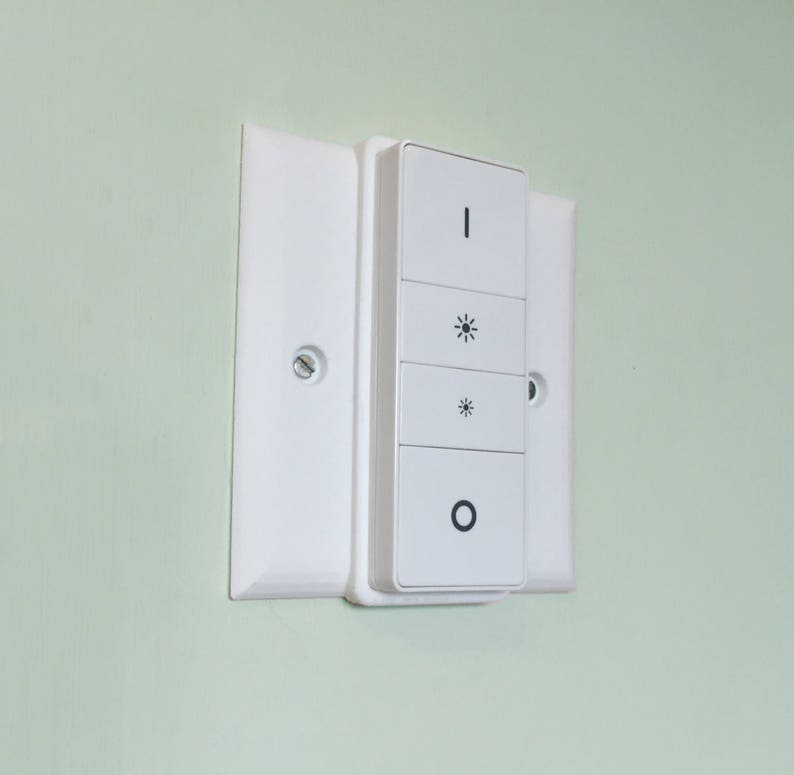Philips HUE Dimmer UK Mounting Plate