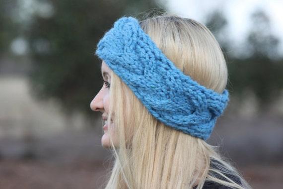 Knit Headband Pattern Cable Knit Pattern Ear Warmer Knitting Pattern