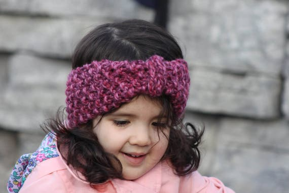 Knit Headband Pattern Turban Headband Pattern Knit Ear Etsy