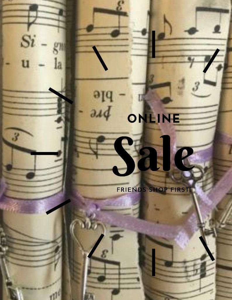 Vintage Sheet Music Scrolls Download Printable Scrapbooking Junk Journaling  Ephemera Tags