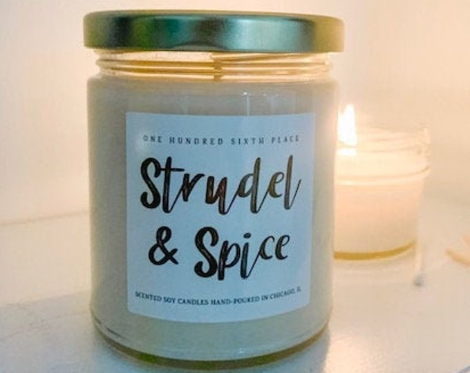 Strudel & Spice 9oz Soy Christmas Candle