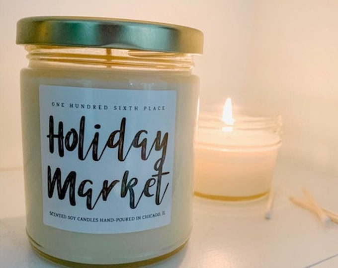 Holiday Market 9oz Soy Christmas Candle
