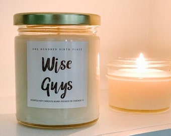Wise Guys (Frankincense and Myrrh) 9oz Soy Christmas Candle