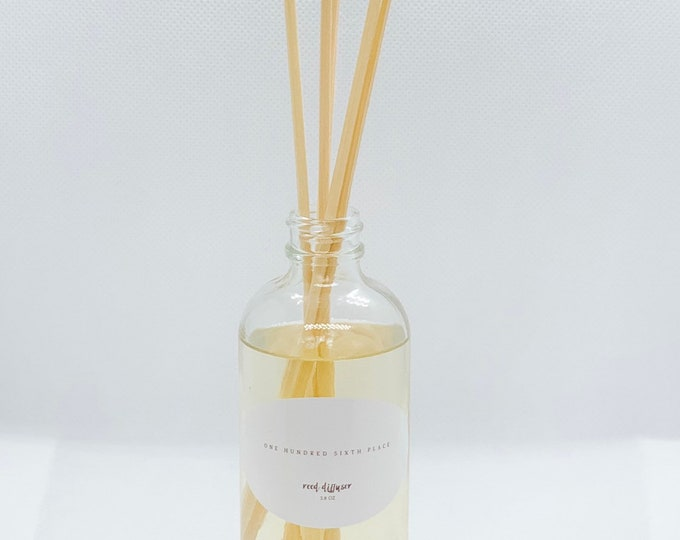 3.8oz Reed Diffuser // Fall Reed Diffuser // Christmas Reed Diffuser