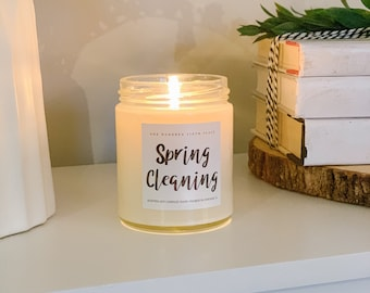 Spring Cleaning 9oz Soy Candle