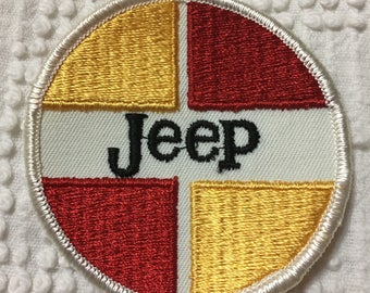 VINTAGE JEEP PATCH Nos Item L@@K Traditional Style Logo