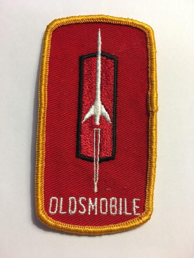 Vintage Oldsmobile Rocket Logo Nos Patch Item Lk Exc Etsy