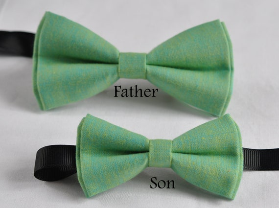Boy Teenage 100/% Cotton Mottled Gray Grey Bow Tie Bowtie Wedding 7-14 Years Old