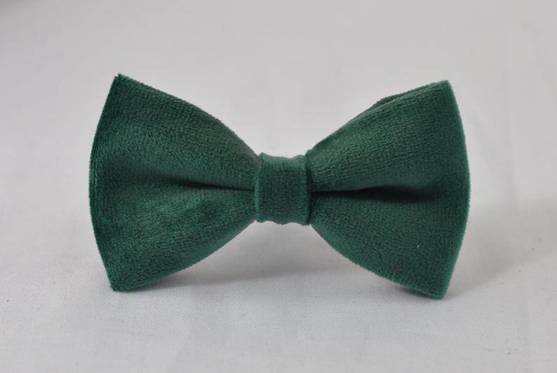 Emerald Green Dark Green Velvet Bow tie Khaki Beige Elastic Suspenders Braces for Baby Infant  Boy Kids  Youth Teenage  Men Adult