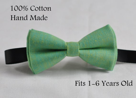 Boy Kids Baby 100/% Cotton Mottled Grey Gray Bow Tie Bowtie Wedding 1-6 Years Old