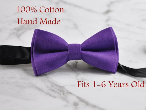 Handmade Navy With Pink Purple Floral Pre tied Kid Kids Infant Toddler Child Children Bow tie Cotton Bowtie Wedding Bowties