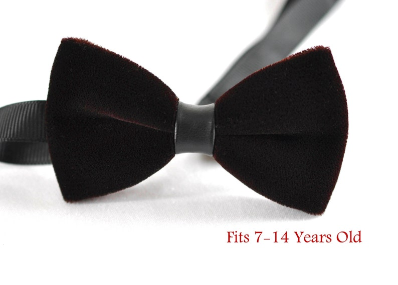 Boy Teenage 100/% Cotton Pink /& Grey Bow Tie Bowtie Party Wedding 7-14 Years Old