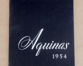 St Thomas Aquinas 1954 College Yearbook St Paul Minnesota