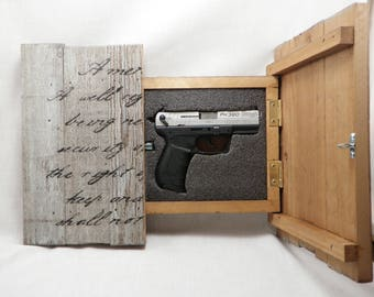 Gun Cabinet Etsy