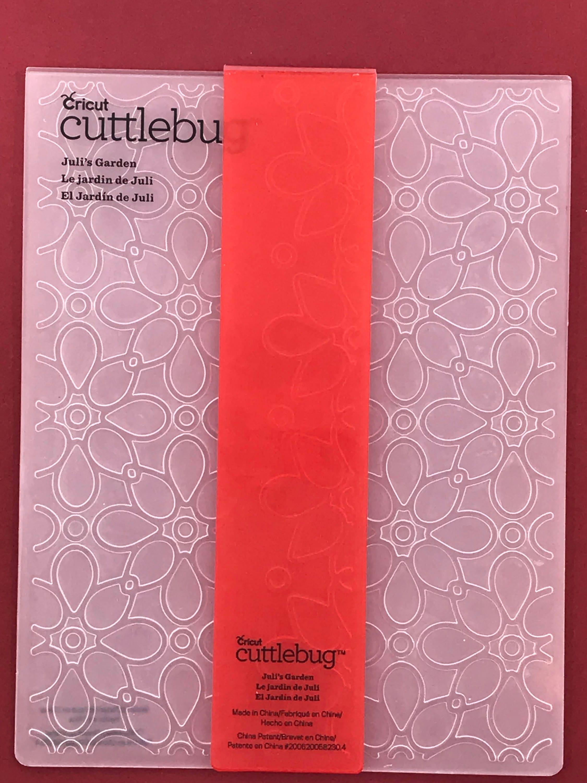 Cricut Cuttlebug JULIS GARDEN Embossing Folder and Border   Etsy