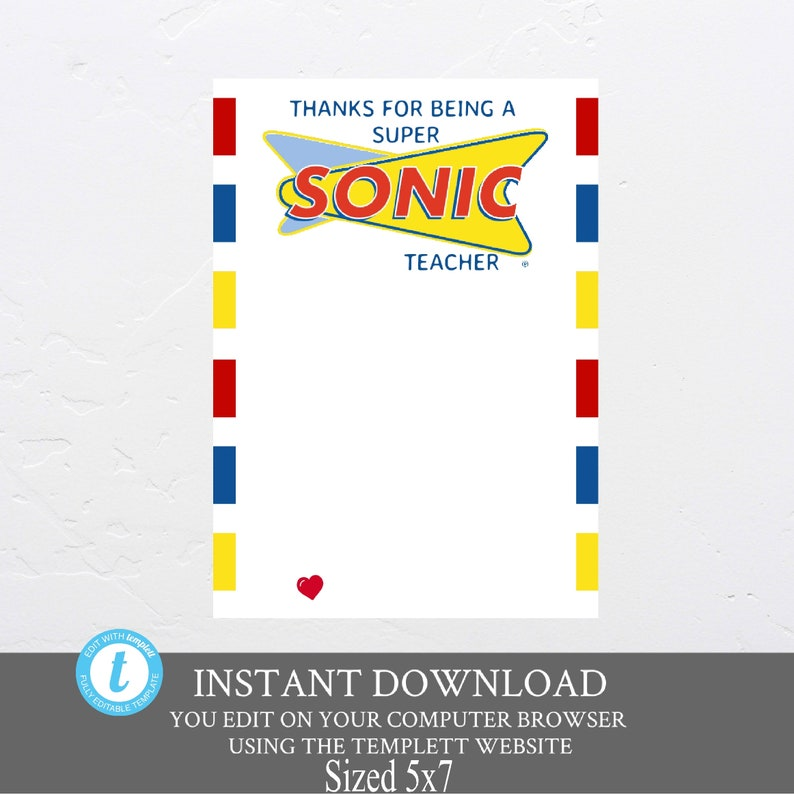photograph regarding Sonic Gift Card Printable identify Present card holder, Instructor Appreciation Tremendous Sonic Present Card Holder, Instructor appreciation Presents, Tremendous Sonic Present Card Holder, electronic