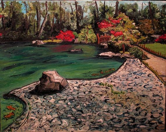 "Manito Park Japanese Gardens 10x8"" (Spokane,WA,Maxwellbrown)"