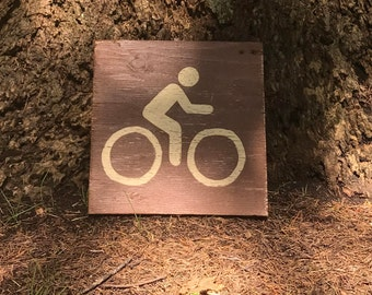 Bicycle Trail Sign