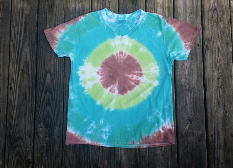 7b2cd9c8ad91a Tie dye, bullseye t-shirt, hippie clothes, unisex adult clothing, v-neck,  target t-shirt, large tshirt, hiking shirt, tye dye shirt