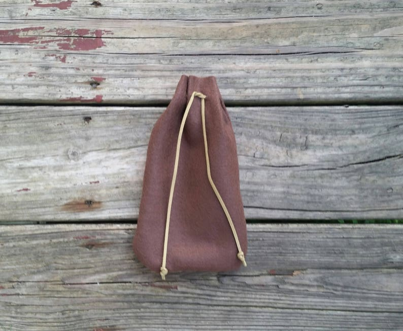 medieval bag cosplay bag Renaissance bag bag Renaissance faire drawstring bag brown medieval coin purse Renaissance medieval pouch