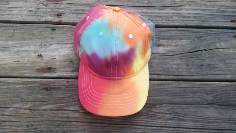 d71db78b3fe79 Tie dye hat Rainbow hat rainbow tie dye dad hat gifts 15