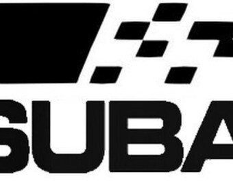 2x 555 subaru sticker vinyl decal for car and others