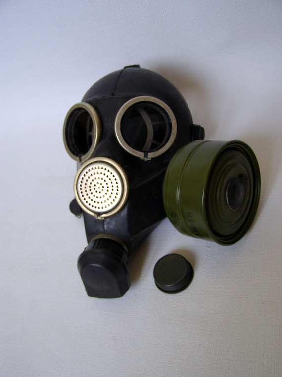 Masquerade Soviet gas mask Vintage BDSM Gas mask Steampunk mask Rare Halloween mask rubber gas mask made in the USSR BDSM mask