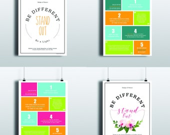 Youth Battalion Prints | Youth Devotional | Prophet Russell M. Nelson | Young Women | Young Men | LDS