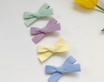4.5 inch Hair Bow rainbow medium Dance Moms girls hair clips kids