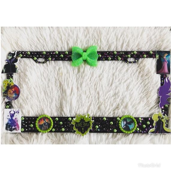 Maleficent license plate frame | Etsy