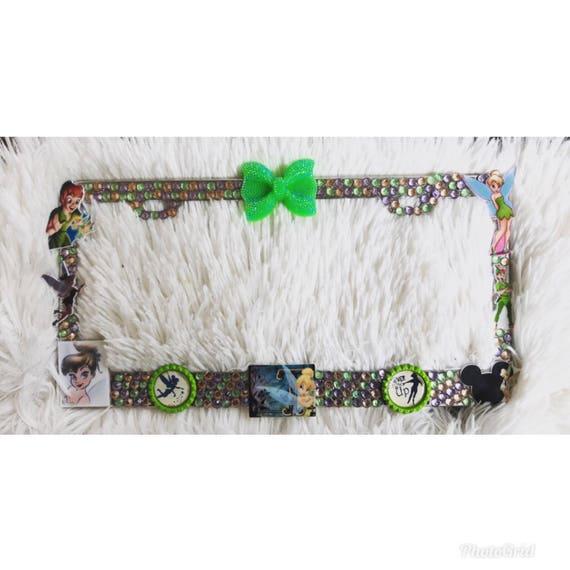 Tinkerbell license plate frame | Etsy