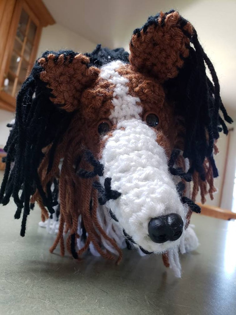 Crochet Sheltie