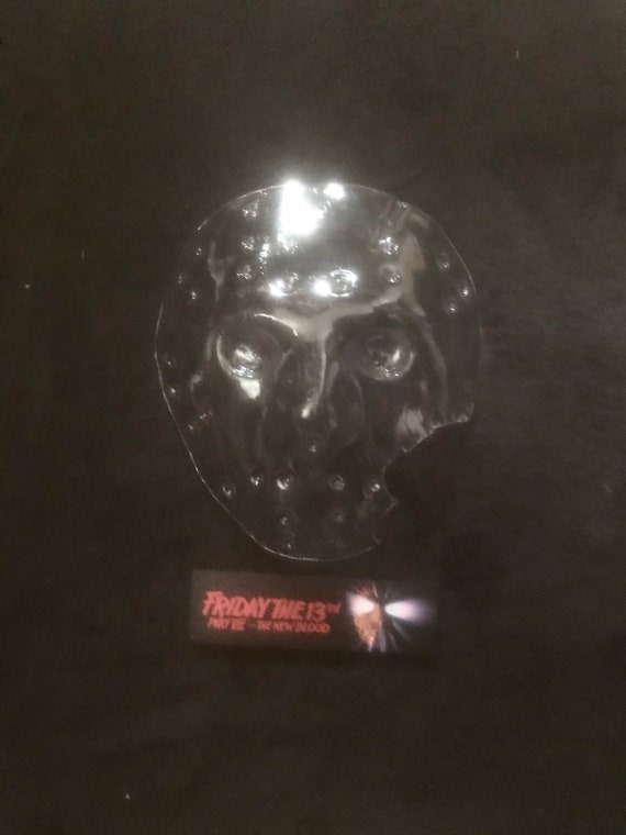 Certificate of authenticity in phoros Friday the 13th Part 7 HERO BLANK off the original mold replica blank