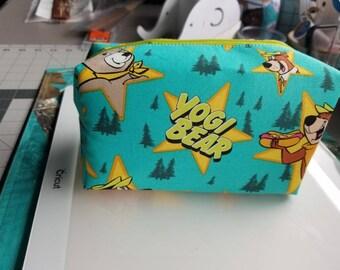 Yogi Bear cosmetic bag