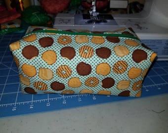 Girl Scout cookie cosmetic bag