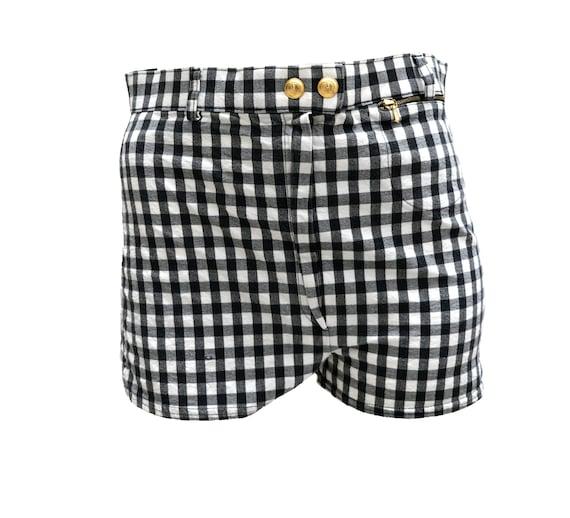 Gucci Vintage Gingham Hot Pants, UK10