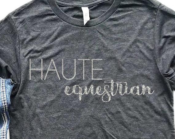 Haute Equestrian short/long sleeve shirt