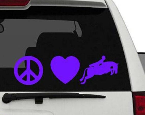 Peace Love Hunters Custom Vinyl Sticker