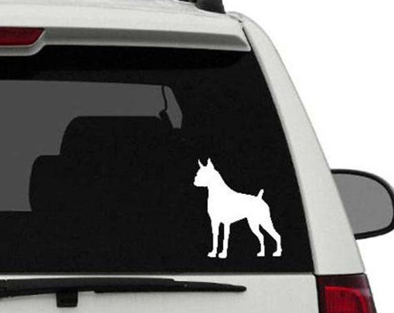 Boxer Vinyl Car Decal//Boxer Love//Boxer Monogram