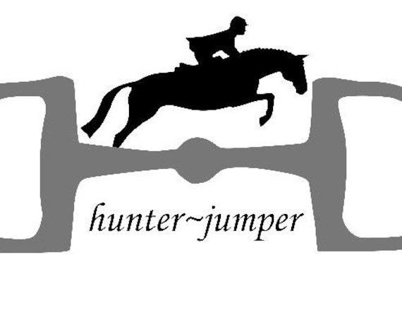 Hunter D Snaffle Bit with Jumper