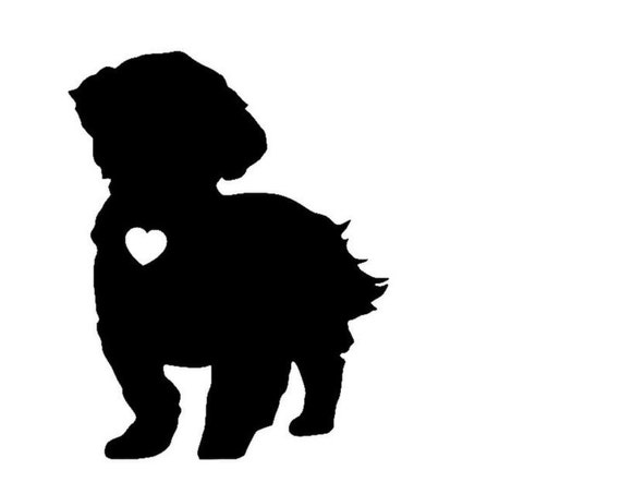 Shih Tzu Vinyl Sticker