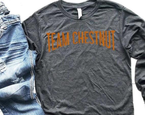 Equestrian Team Chestnut Long or Short Sleeve Shirt  Hunter/Jumper