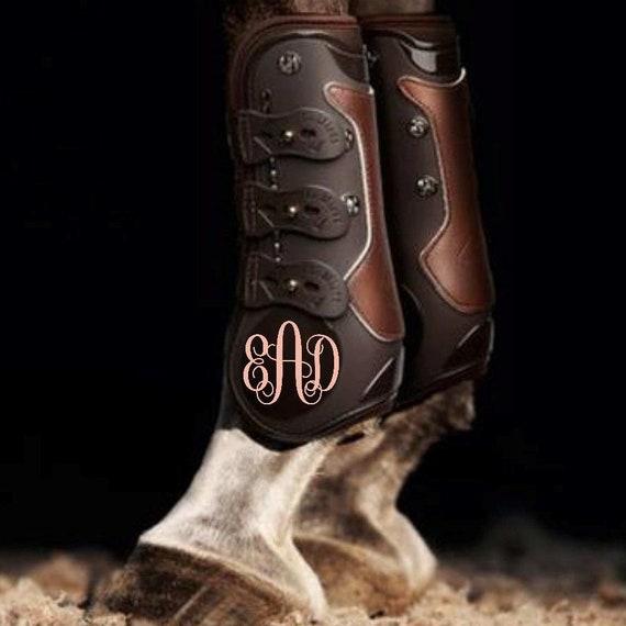 Jumping Boots Monogram//Equestrian Monogram